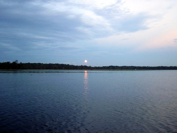Howl at the Super Moon Lake Martin August 2014 Pack & Paddle