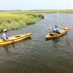 John & Jim fishing