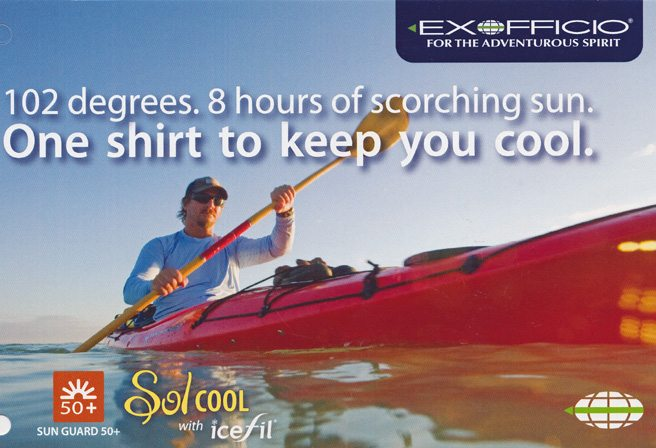Cooling Clothing Sol Cool Exofficio Pack & Paddle