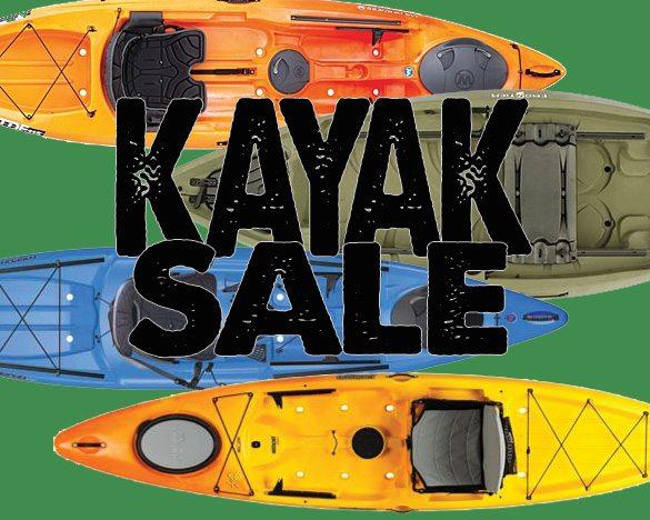Kayak Sale September 2013 Pack & Paddle