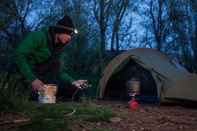 The PowerPot Thermoelectric Generator Pack & Paddle