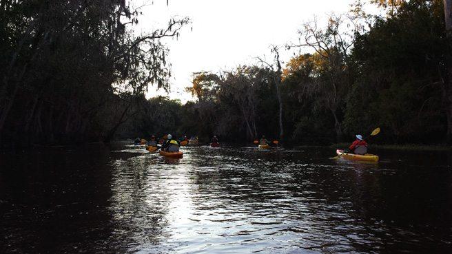 Lacassine Bayou Paddle Oct 2013 Pack & Paddle