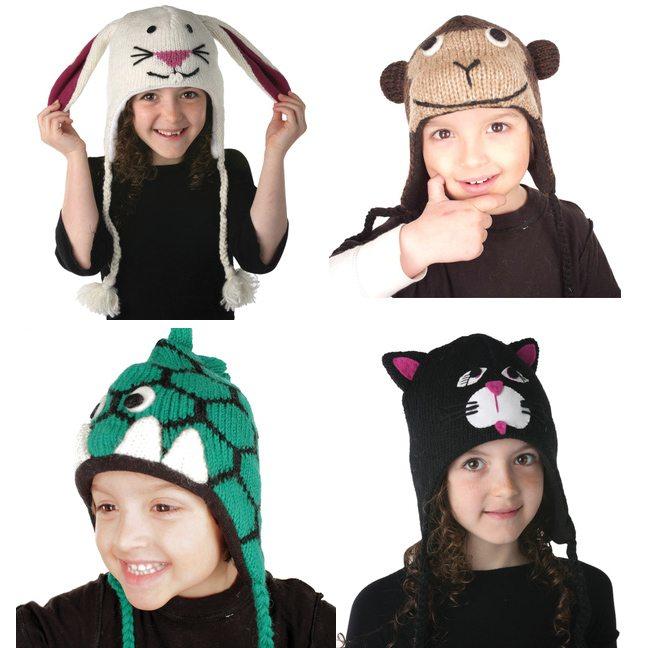Animal Hats by Nirvanna Designs