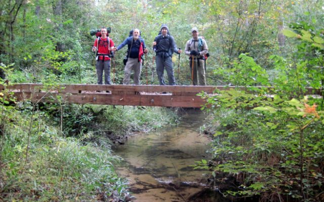 Wild Azalea Backpacking Trip Pack & Paddle