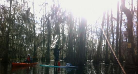 Morning Paddle at Lake Martin Feb 2014 Pack & Paddle