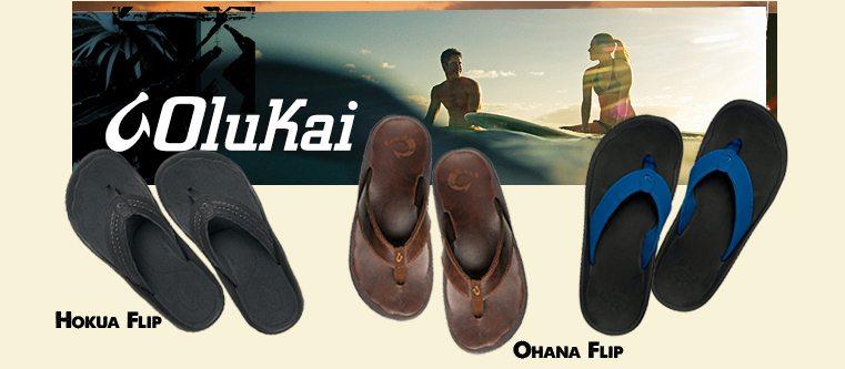 Olukai Flip Flops Summer Pack & Paddle