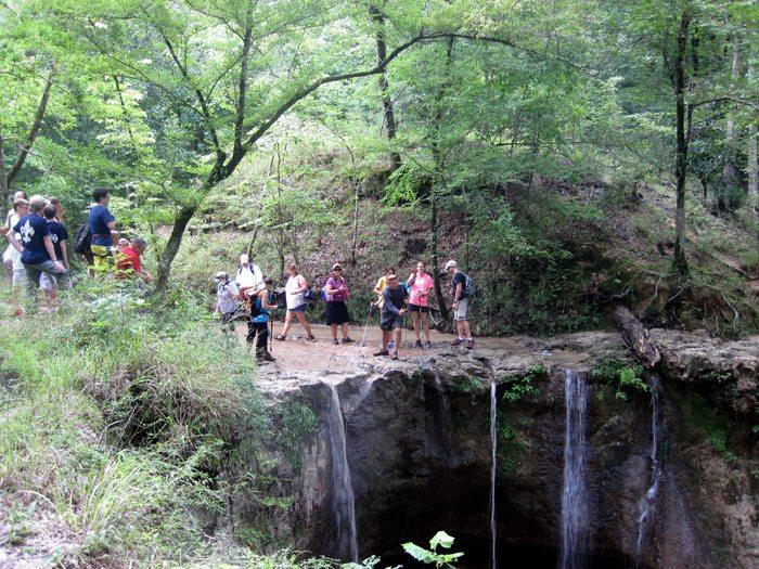 Waterfall Hike at Clark Creek Sept 2014 Pack & Paddle